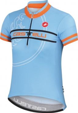 Castelli Segno kinder fietsshirt gulf race