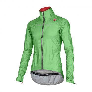 Castelli Tempesta race jacket groen-fluo heren 15510-045