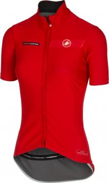 Castelli gabba W korte mouw jacket rood dames 15574-023