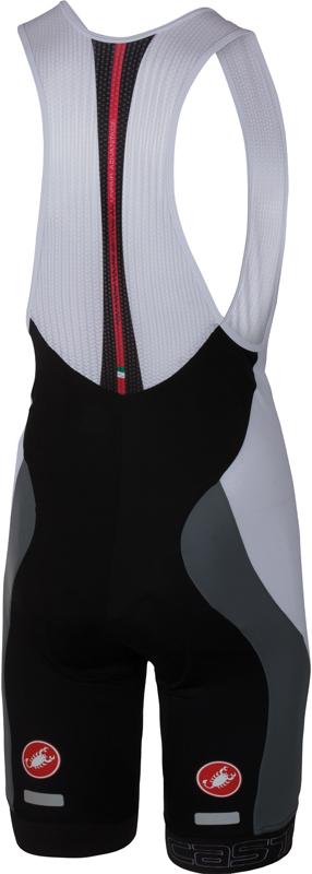 Castelli Velocissimo bibshort zwart/wit heren 16003-101