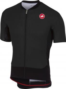 Castelli Rs superleggera fietsshirt licht zwart heren