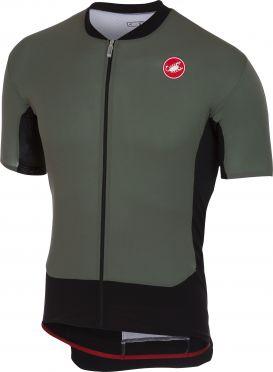Castelli Rs superleggera fietsshirt forest grijs heren