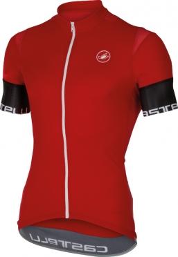Castelli Entrata 2 jersey rood heren 16013-023