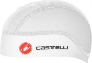 Castelli Summer skullcap helmmuts wit heren