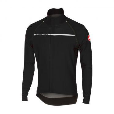 Castelli Perfetto convertible jacket licht zwart heren