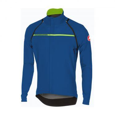 Castelli Perfetto convertible jacket ceramic blauw heren