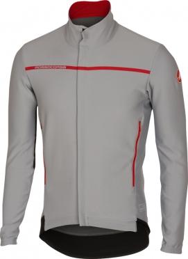 Castelli Perfetto lange mouw jacket grijs heren 16507-080