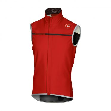 Castelli Perfetto vest rood heren 16508-023