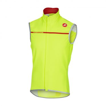 Castelli Perfetto vest geel-fluo heren 16508-032
