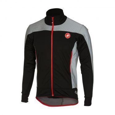 Castelli Mortirolo reflex jacket zwart heren 16512-010