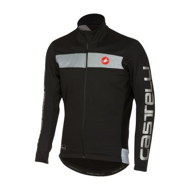 Castelli Raddoppia jacket zwart/reflex heren 16514-010