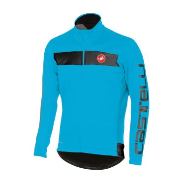 Castelli Raddoppia jacket sky blauw heren