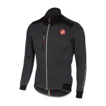 Castelli Potenza jersey FZ antraciet heren 16515-009