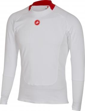 Castelli Prosecco LS ondershirt heren wit 16528-001