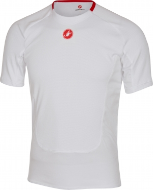 Castelli Prosecco SS ondershirt heren wit 16529-001