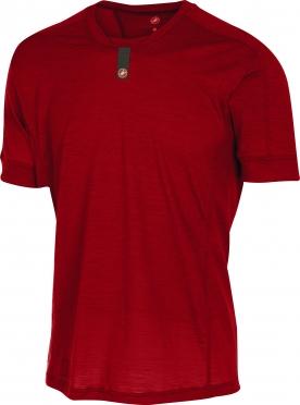 Castelli Procaccini wool SS ondershirt heren rood 16532-017