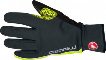 Castelli Spettacolo glove heren antraciet/geel-fluo 16534-932