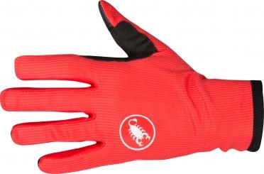 Castelli Scudo fietshandschoen rood heren 16536-023