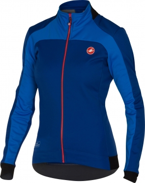 Castelli Mortirolo 2 W jacket blauw dames 16541-057