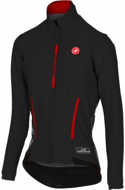 Castelli Perfetto W lange mouw jacket zwart dames 16542-010