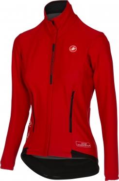Castelli Perfetto W lange mouw jacket rood dames 16542-023