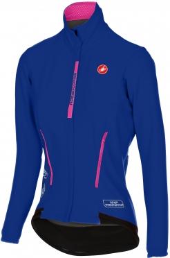 Castelli Perfetto W lange mouw jacket blauw dames 16542-057