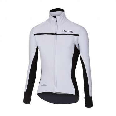 Castelli Trasparente 3 W fietsshirt lange mouw wit dames