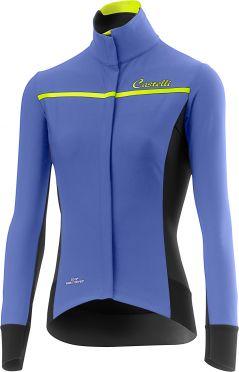 Castelli Trasparente 3 W fietsshirt lange mouw blauw dames
