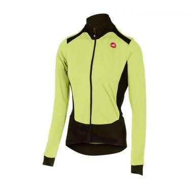 Castelli Sciccosa fietsshirt lange mouw lime dames