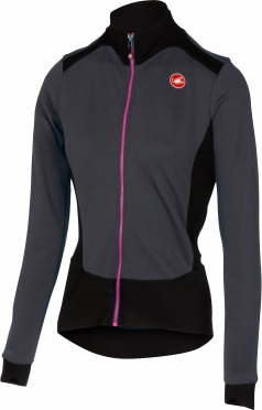 Castelli Sciccosa jersey FZ antraciet/zwart dames 16547-009