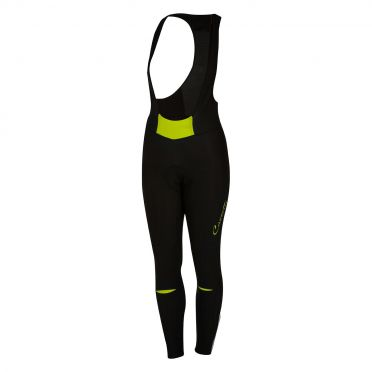 Castelli Chic bibtight zwart/lime dames