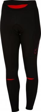 Castelli Chic tight zwart/rood dames 16552-023