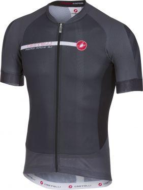 Castelli Aero race 5.1 fietsshirt antraciet/wit heren