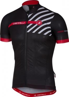 Castelli Free ar 4.1 fietsshirt zwart heren