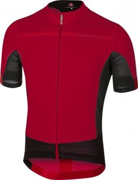 Castelli Forza pro fietsshirt rood heren