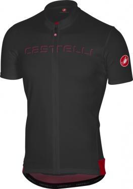Castelli Prologo V fietsshirt korte mouw zwart heren