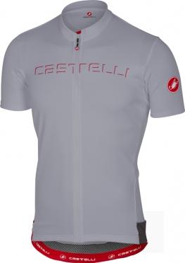 Castelli Prologo V fietsshirt korte mouw grijs heren
