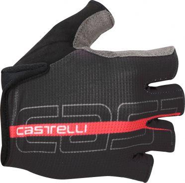Castelli Tempo glove fietshandschoenen zwart/rood heren