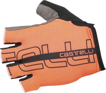 Castelli Tempo glove fietshandschoenen oranje/zwart heren