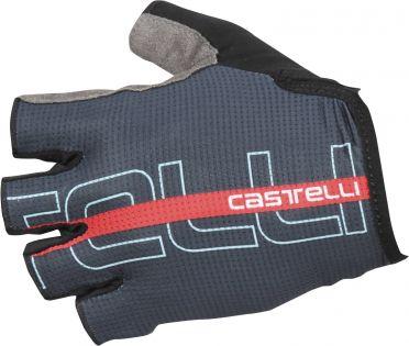 Castelli Tempo glove fietshandschoenen donker blauw/rood heren