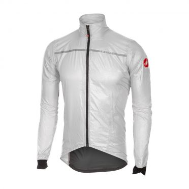 Castelli Superleggera jacket regenjack wit heren