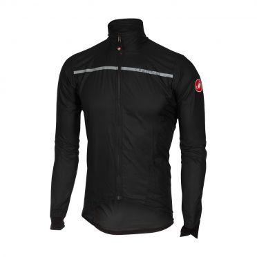 Castelli Superleggera jacket regenjack zwart heren
