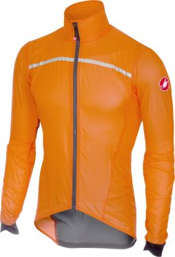 Castelli Superleggera jacket oranje heren