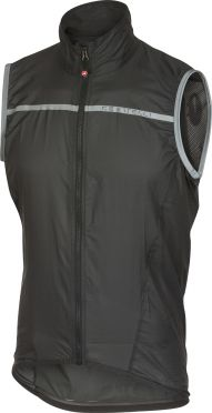 Castelli Superleggera vest antraciet/geel heren