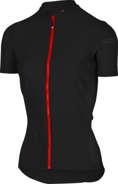 Castelli Promessa 2 fietsshirt zwart/rood dames