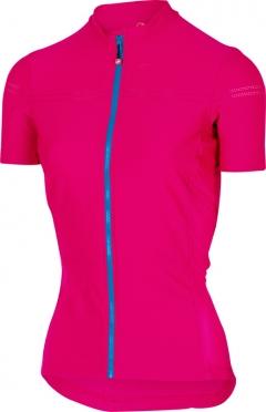Castelli Promessa 2 fietsshirt roze/blauw dames