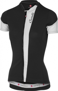 Castelli Spada fietsshirt zwart/wit dames