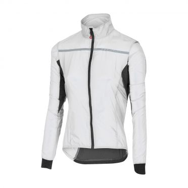 Castelli Superleggera W jacket regenjack wit dames