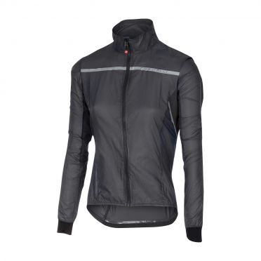 Castelli Superleggera W jacket regenjack antraciet dames