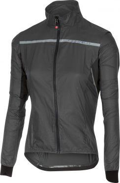 Castelli Superleggera W jacket regenjack antraciet dames